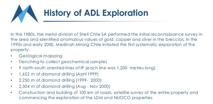 History of the ADL