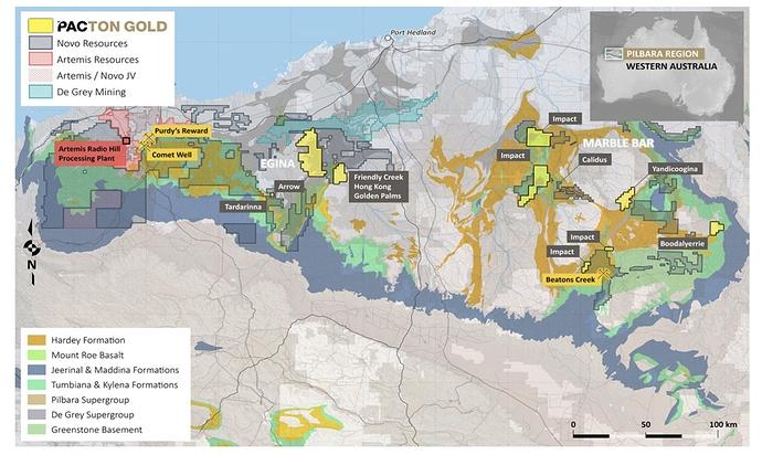 Pilbara land holdings