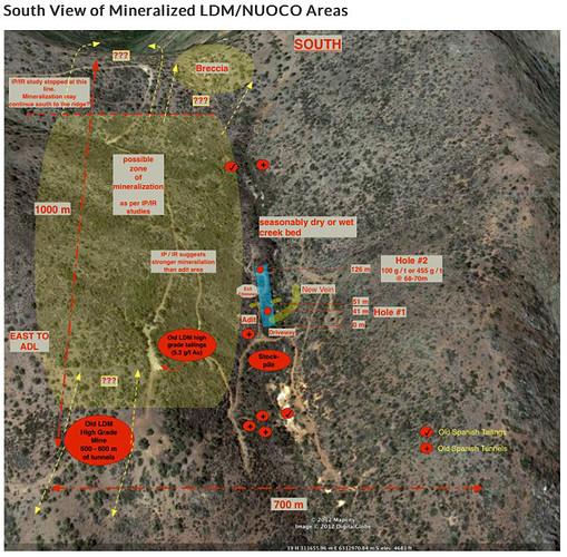 LDM-NUOCO Mineralization